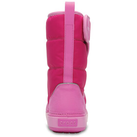 Crocs LodgePoint Snow Boots Kids Candy Pink/Party Pink